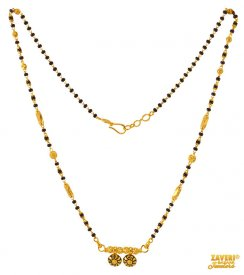 22 Kt Fancy Beads Mangalsutra  ( Gold Mangalsutras )