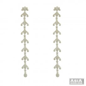 18K White Gold Fancy Earrings