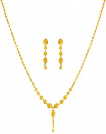 22 Karat Gold Dokia Set
