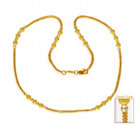 22K Gold Two Tone Chain (16)