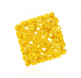 22Kt Gold Ladies Ring ( 22K Gold Rings )