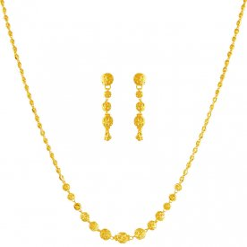 22K Gold Necklace Set