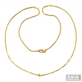 22K Gold Fancy Ladies Chain  ( Gold Fancy Chains )