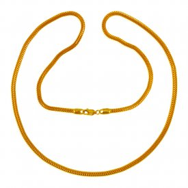 22 Kt Gold Snake Chain (24  in)
