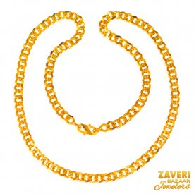 22 Kt Mens Chain  ( Mens Gold Chain )