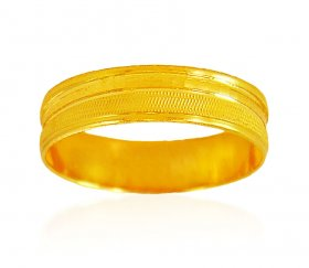 22karet Gold band (Ring) ( Gold Wedding Bands )