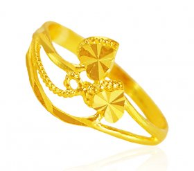 22 Karat Gold Ladies Ring