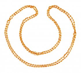 22K Ladies Long White Tulsi Chain ( Long Chains (Ladies) )