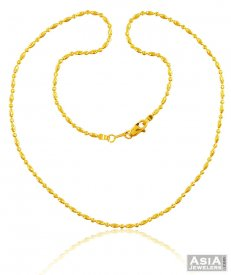 22K Traditional Balls Chain   ( Gold Fancy Chains )