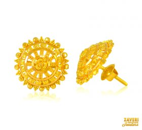 b4112ebed 22K Gold Tops - Collection of 22K Gold Tops / Earrings ( also known ...