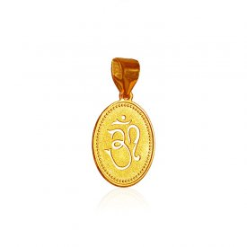 22k Gold OM and Laxmi Pendant ( Ganesh, Laxmi, Krishna and more )