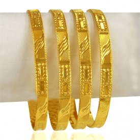 22 kt Gold bangles (Set of Four)