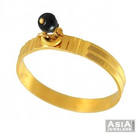 22k Gold Ring With Hanging