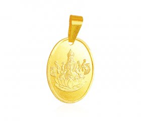 22k Gold reversible pendant