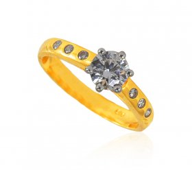 22 Kt Gold Ladies Ring