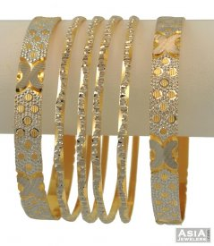 Exclusive 2Tone Bangles Set ( Multi Tone Bangles )