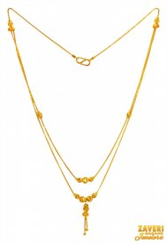 22k Gold Dokia Chain ( Gold Fancy Chains )