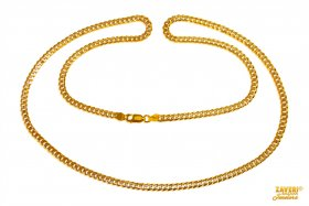 22 KTGold Cuban Link Chain ( Mens Gold Chain )