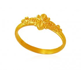22k Gold kids ring ( 22Kt Kids Rings )