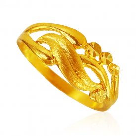22Karat Gold Fancy Ring for Ladies ( 22K Gold Rings )