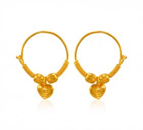 22K Gold Hoop (KIDS) ( 22K Gold Hoops )