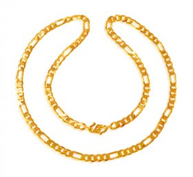 22K Gold Chain 22In ( Mens Gold Chain )