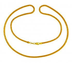 22 Kt Gold Chain 26 In