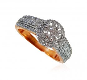 18Karat Gold Diamond Ladies Ring ( Diamond Rings (Ladies) )