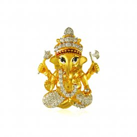 Gold Lord Ganesha 22 kt Pendant ( Ganesh, Laxmi, Krishna and more )