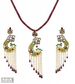Victorian pendant Set ( Nizam Collection (Victorian) )
