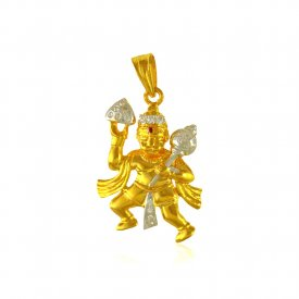 Hanuman Jee Gold Pendant ( Ganesh, Laxmi, Krishna and more )