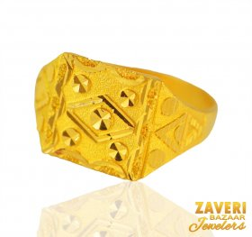 22 karat Gold Ring for Men ( Men`s Rings )