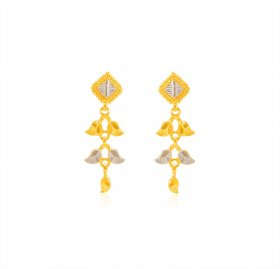22K Gold Earrings ( 22K Gold Earrings )
