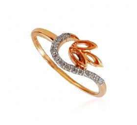 18k Rose Gold Diamond Ladies ring ( Diamond Rings (Ladies) )
