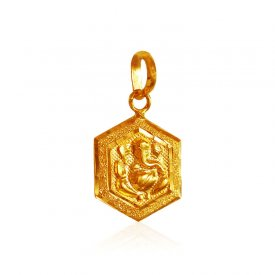22 kt Gold Lord Ganesh Pendant ( Ganesh, Laxmi, Krishna and more )