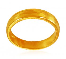 22K Gold Plain Band