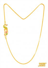 Fancy Moggopu chain (22k Gold) ( Gold Fancy Chains )