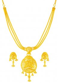 22Karat Gold Necklace Set