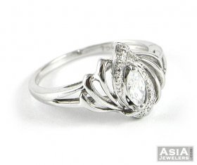 Fancy White Gold Ring ( White Gold Rings )