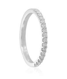 Elegant 18k Diamond Band ( Diamond Rings (Ladies) )
