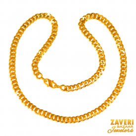 22 Kt Mens Chain (20 In) ( Mens Gold Chain )