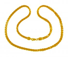 22 Kt  Gold Solid Chain  ( Mens Gold Chain )