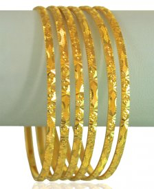 22K Gold  Bangles Set(set of 6)