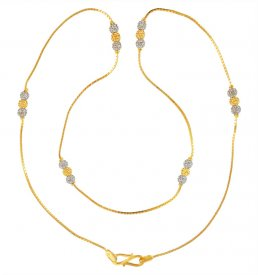 22kt Gold Fancy Chain for Girls