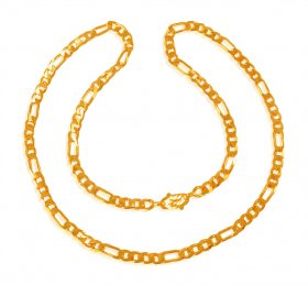 22 Kt Gold Chain  ( Mens Gold Chain )