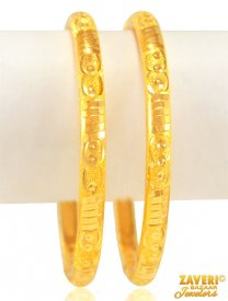 22 Kt Pipe Bangles