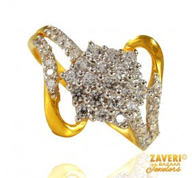 22k Gold Signity Ring for ladies.