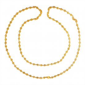 22Karat Gold Two Tone Chain for Women ( Long Chains (Ladies) )