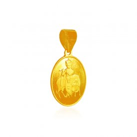 22K Gold Krishna Pendant ( Ganesh, Laxmi, Krishna and more )