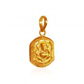 22 Karat Gold Ganesha Pendant ( Ganesh, Laxmi, Krishna and more )
